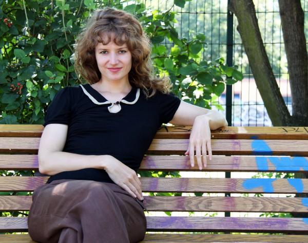 """Sarah Diehl, Autorin von """"Die Uhr die nicht tickt """""""